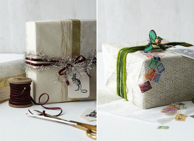 Anthropologie gift wrap